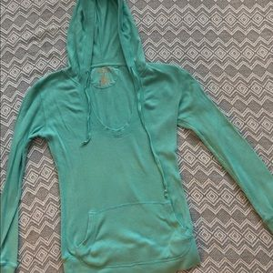 Maurices Size Small Sweatshirt. Teal Green Mint
